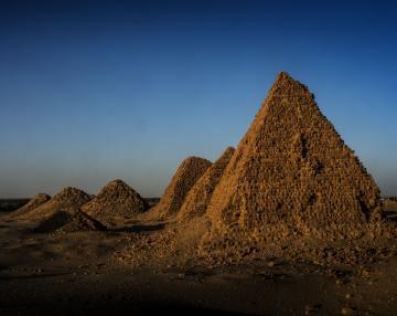 Piramidele secrete din Sudan
